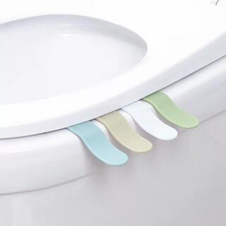 トイレ 蓋 とって リフター バンドル 便利 アイテム トイレカバー 便座 清潔(トイレマット)