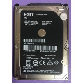 ヒタチ(日立)の日立 HGST ハードディスク 1TB(PCパーツ)