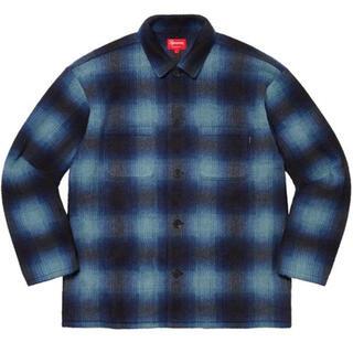 Supreme - Supreme 20aw Shadow Plaid Shirt BLUE XL青