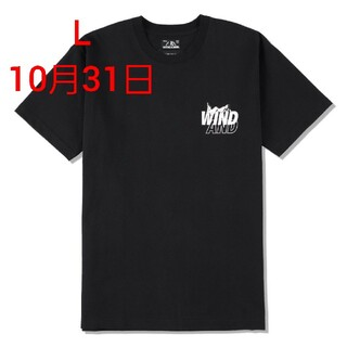 HYSTERIC GLAMOUR - HYSTERIC GLAMOUR X WDS T-SHIRT / BLACK