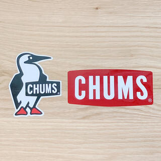 チャムス(CHUMS)のCHUMS 正規品 ステッカー 《2枚組》(ステッカー)