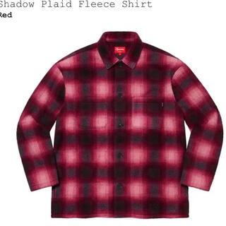 Supreme - Shadow Plaid Fleece Shirt フリース チェックジャケット