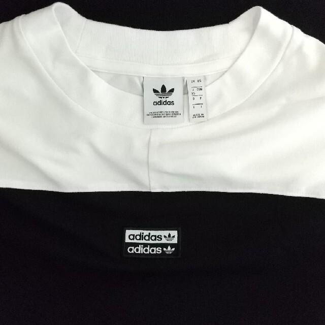 adidas(アディダス)のアディダスオリジナルロゴTシャツ レディースのトップス(Tシャツ(半袖/袖なし))の商品写真