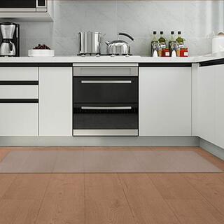 JOOCII キッチンマット 透明 床マット PVC 台所マット 4 R2520