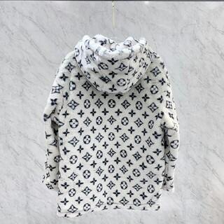 ルイヴィトン(LOUIS VUITTON)の新しいファッションフルロゴラムウールコート(ロングコート)