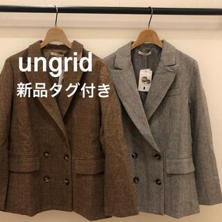 アングリッド(Ungrid)の【新品】 Ungrid チェックジャケット(テーラードジャケット)