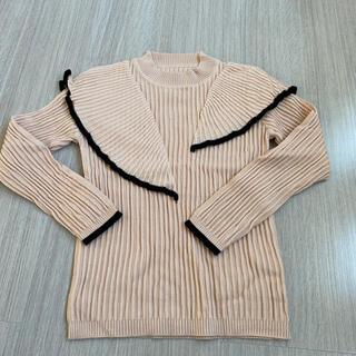 ディーホリック(dholic)のフリルニット ニット 韓国 冬服 秋服 (ニット/セーター)