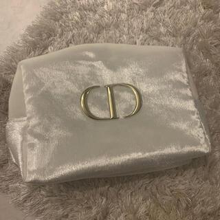 Dior - ディオール ノベルティ クリスマスコフレ 白 ビッグポーチ ポーチ