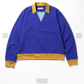 ビューティアンドユースユナイテッドアローズ(BEAUTY&YOUTH UNITED ARROWS)のBEAUTY&YOUTH TUBE ラガーシャツ 定価約1.5万(ポロシャツ)