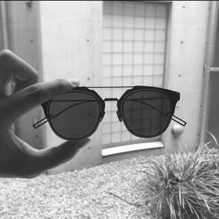 ディオールオム(DIOR HOMME)のDiorHomme Composit 1.0 0062K ブラック サングラス(サングラス/メガネ)