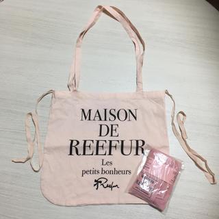 メゾンドリーファー(Maison de Reefur)のショッパー&ハンドタオル(ハンカチ)