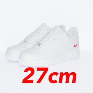 Supreme - 即発送 27cm supreme air force1 white