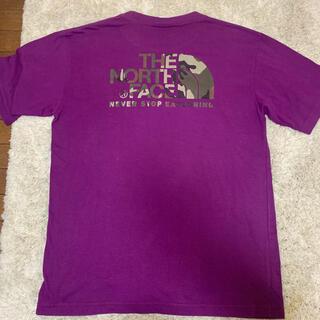 THE NORTH FACE - 美品⭐︎ ノースフェイス パープル Tシャツ