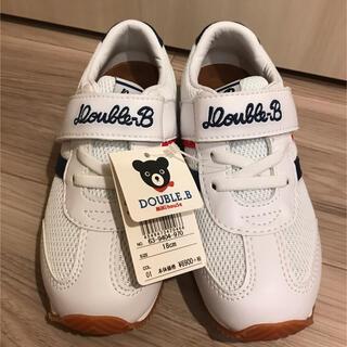 DOUBLE.B - ダブルビー 靴 シューズ 18センチ
