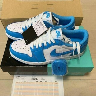 NIKE - Nike SB Air jordan1 low QS UNC 28cm