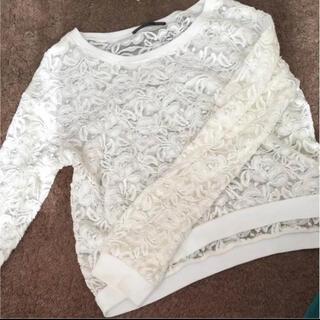 ヘザー(heather)のトップス(Tシャツ(長袖/七分))