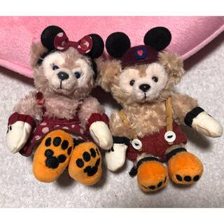 Disney - ディズニーシー ダッフィー シェリーメイ ハロウィン ぬいぐるみストラップ