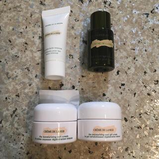ドゥラメール(DE LA MER)のドゥ・ラ・メール クリーム 化粧水 アイクリーム 4点サンプルセット(サンプル/トライアルキット)