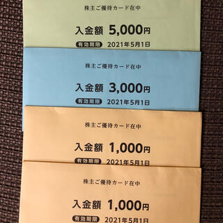 西松屋 - 最新西松屋株主優待1万円分