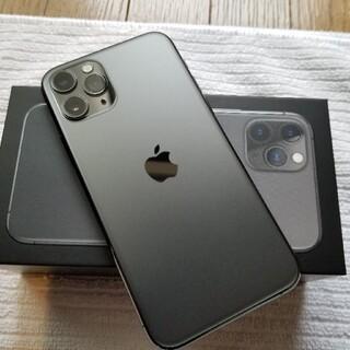 iPhone - iPhone11pro 512GB SIMフリー スペースグレイ iPhone