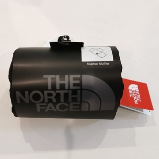 ザノースフェイス(THE NORTH FACE)のノースフェイス ヌプシマフラー ブラック 新品未使用(マフラー)