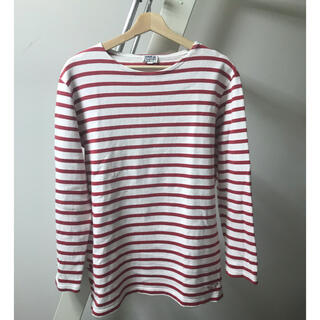 アルモーリュックス(Armorlux)の【送料無料】アルモーリュクス1970'sヴィンテージフランスバスクシャツサイズ4(Tシャツ/カットソー(七分/長袖))
