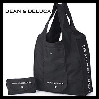 DEAN & DELUCA - 新品! DEAN&DELUCA☆エコバッグ☆ブラック☆マイバッグ 買い物バッグ