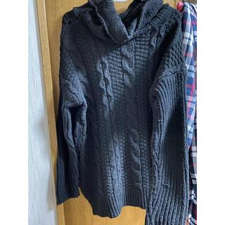 アビラピンク(AVIRA PINK)のAvila pink ニット セーター ワンピース オフショル  2way(ニット/セーター)