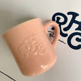 ロンハーマン(Ron Herman)のロンハーマン☆ RHC☆ マグカップ《Pink》(グラス/カップ)