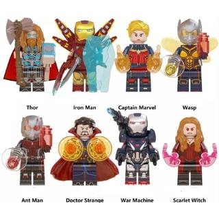 アベンジャーズ  ミニフィグ8体 フィグ LEGO レゴ互換