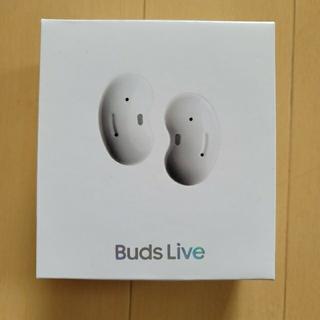 サムスン(SAMSUNG)の未使用品 Galaxy Buds Live ホワイト(ヘッドフォン/イヤフォン)