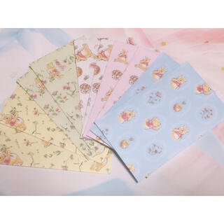 クマノプーサン(くまのプーさん)のくまのプーさんポチ袋【ハンドメイド】(カード/レター/ラッピング)
