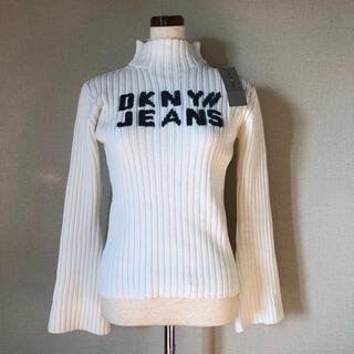ダナキャランニューヨーク(DKNY)の新品【DKNY JEANS】ディーケーエヌワイ ジーンズ ハイネック セーター(ニット/セーター)