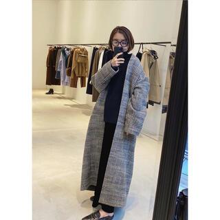 L'Appartement DEUXIEME CLASSE - 2日間限定 🖤 アパルトモン Check Long Coat