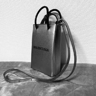 Balenciaga - BALENCIAGA ショッピング フォンホルダーバッグ バレンシアガ