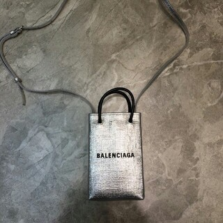 Balenciaga - 早い者勝ち BALENCIAGA ショッピングフォンホルダー ショルダーバ