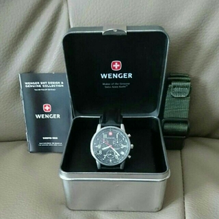 ウェンガー(Wenger)のWENGER ウェンガー腕時計(腕時計(アナログ))