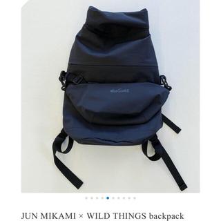 jonnlynx - jun mikami × wildthings バックパック ブラック