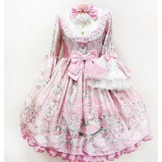 Angelic Pretty - Angelic pretty Belle epoque roseワンピースセット
