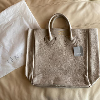 IENA - YOUNG&OLSEN EMBOSSED レザートートバッグ M