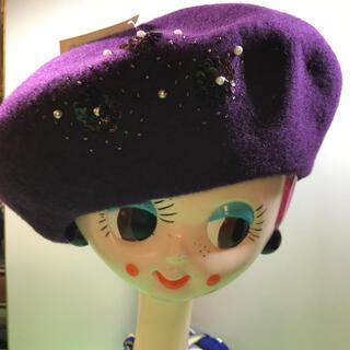 Yukiko Hanai - Yukiko.Hanai.... ベレー帽……未使用