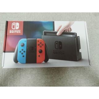 Nintendo Switch - ニンテンドースイッチ NINTENDO SWITCH本体ネオンレッドネオンブルー