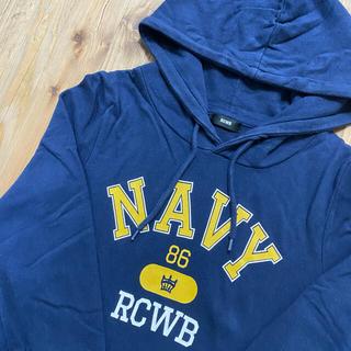 ロデオクラウンズ(RODEO CROWNS)の美品 ロデオクラウンズ RCWB M トレーナー スウェット ワンピース  冬服(トレーナー/スウェット)