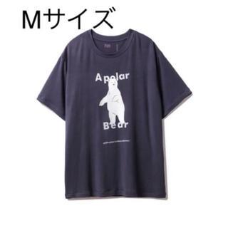 ジェラートピケ(gelato pique)のジェラートピケ HOMME シロクマ Tシャツ Mサイズ(ルームウェア)