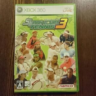 バンダイナムコエンターテインメント(BANDAI NAMCO Entertainment)のスマッシュコートテニス3 XBOX360(家庭用ゲームソフト)