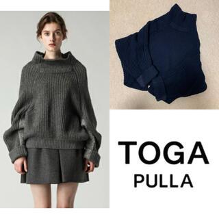 TOGA - 【美品】TOGAPULLA トーガプルラ リブタートルニット