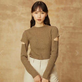 randeboo  Charm cut knit(khaki)