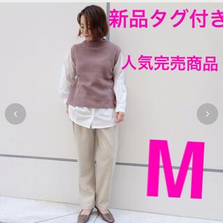 シマムラ(しまむら)の人気完売商品!新品タグ付き!しまむら★ドッキングニットプルオーバ+付け裾(ニット/セーター)