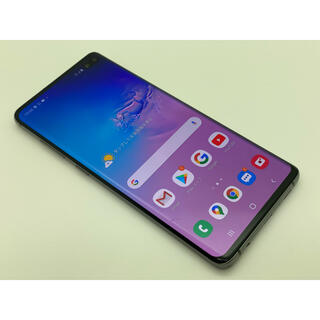 SAMSUNG - (272) galaxy S10+ plus 128gb ブラック SIMフリー