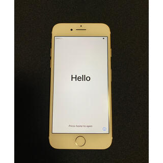 iPhone - iPhone7 128G ゴールド(本体のみ)